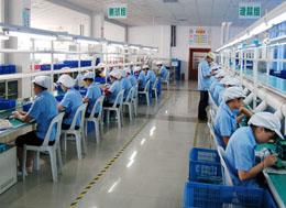 胜为生产工厂内景