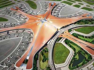 胜为FC-FC单模光纤跳线产品应用于北京大兴国际机场项目