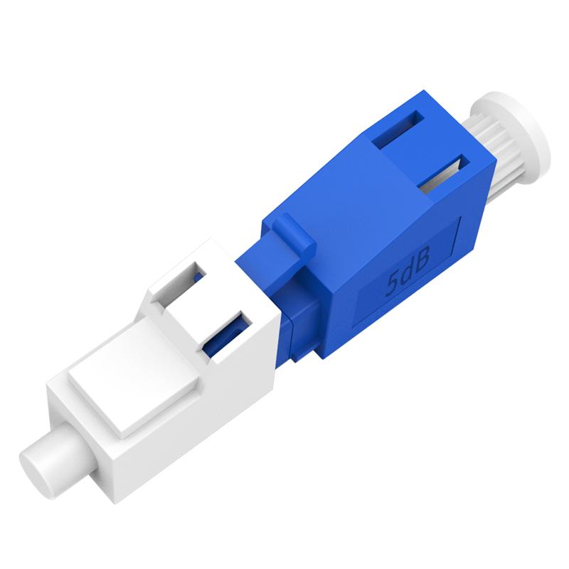 胜为 OCLY-105db LC-LC型阴阳式 5db公母固定法兰/耦合适配器转换头