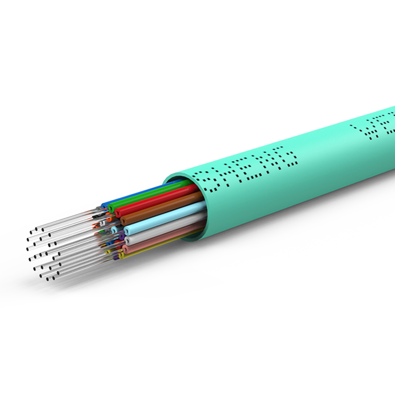 胜为24芯万兆多模室内光纤光缆 OM3-300 GJFJV/GJFJH 100米束状软光缆