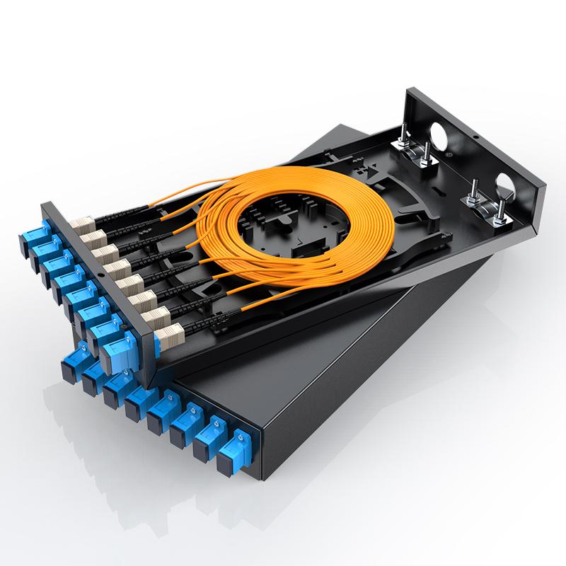胜为 光纤终端盒 SC接口8口  多模世界杯app下载光缆熔接盒
