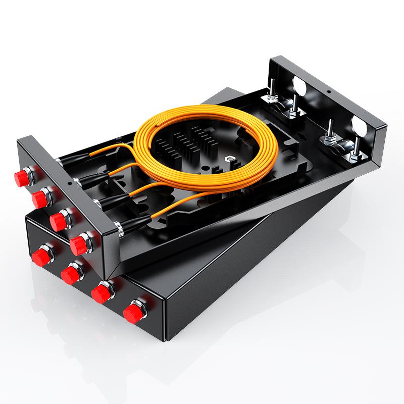 胜为 光纤终端盒 4口 FC接口多模尾纤光缆接续箱