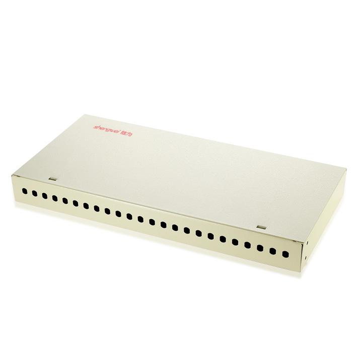 24口FC桌面式光纤终端盒
