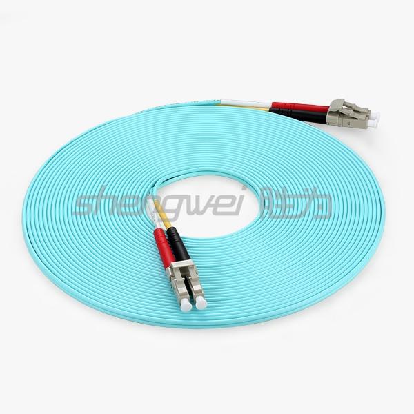 电信级 LC/UPC-LC/UPC多模双芯光纤跳线  10米