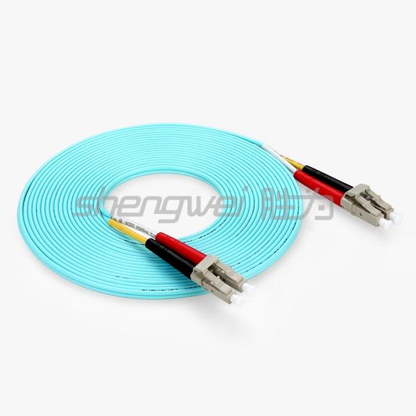 电信级  LC/UPC-LC/UPC多模双芯光纤跳线 5米