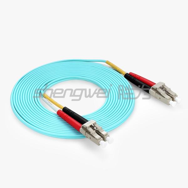 电信级  LC/UPC-LC/UPC多模双芯光纤跳线 3米