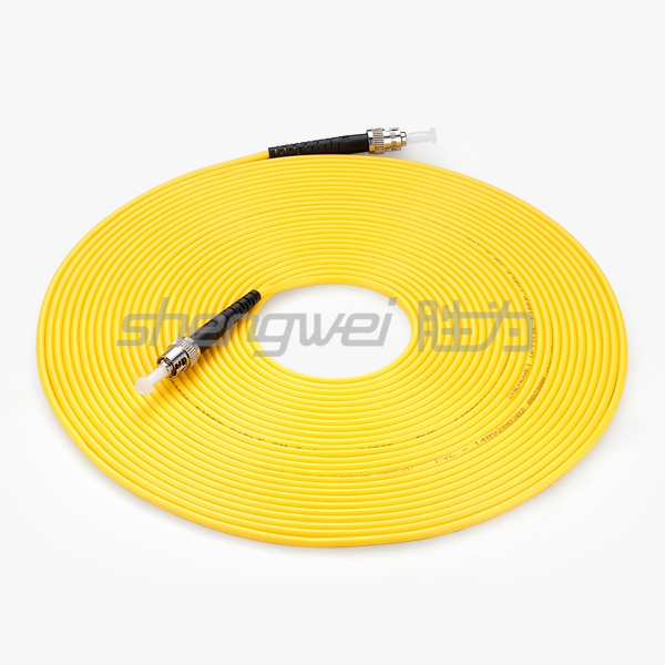 电信级 ST(UPC)-ST(UPC)单模单芯光纤跳线 10米