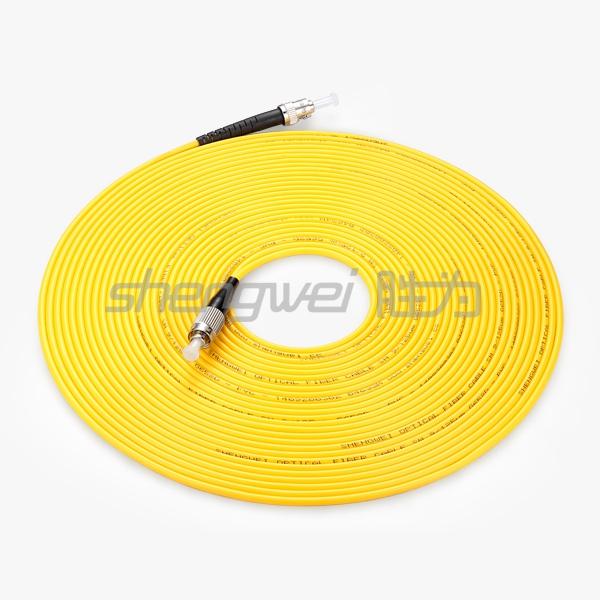 电信级 ST(UPC)-FC(UPC)单模单芯光纤跳线 10米