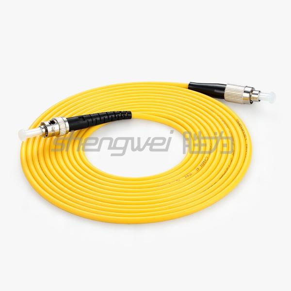 电信级 ST(UPC)-FC(UPC)单模单芯光纤跳线 3米