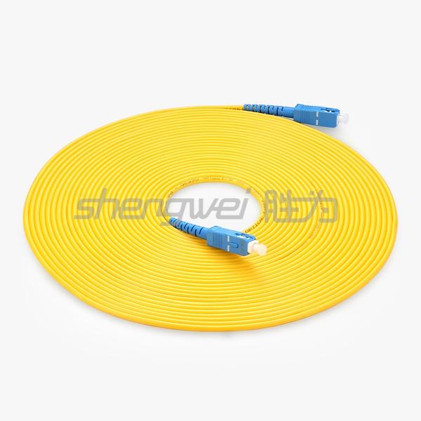 电信级 SC(UPC)-SC(UPC)单模单芯光纤跳线 10米