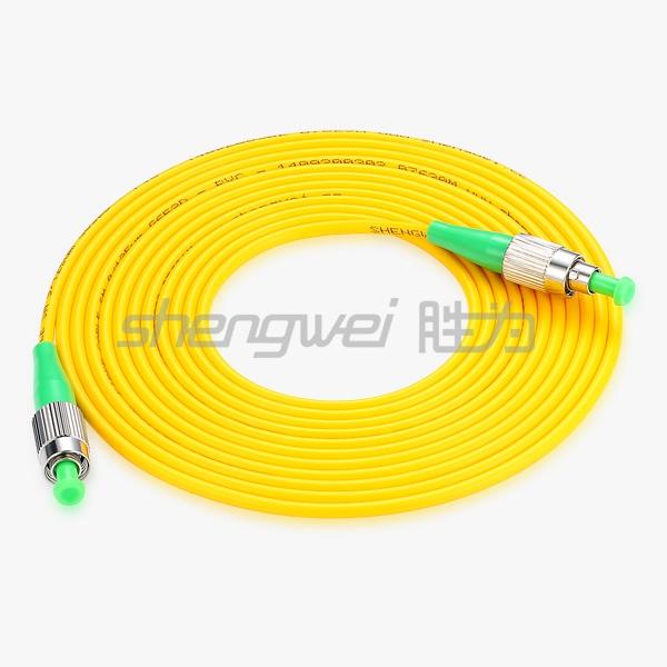 电信级 FC(APC)-FC(APC)单模单芯光纤跳线 3米