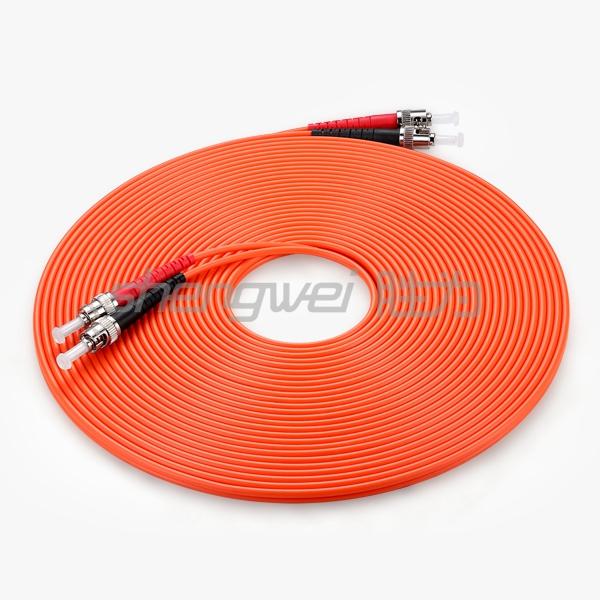 电信级 ST(UPC)-ST(UPC)多模双芯光纤跳线 10米