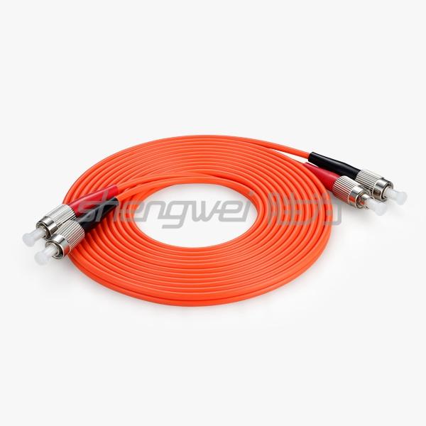 电信级 FC(UPC)-FC(UPC)多模双芯光纤跳线 3米