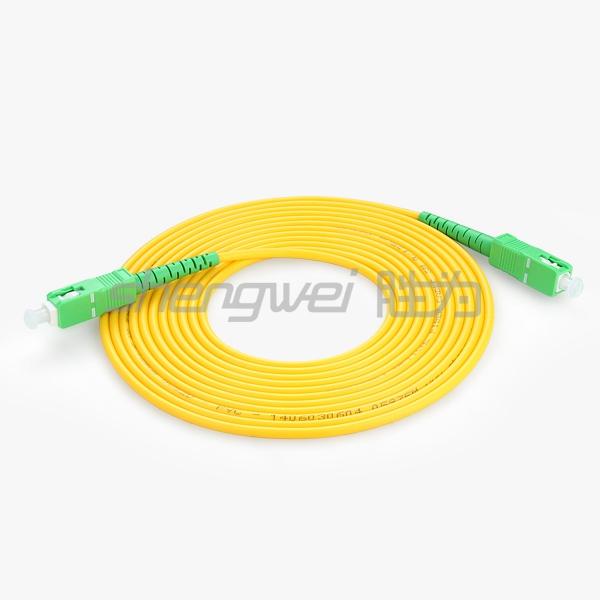 电信级 SC(APC)-SC(APC)单模单芯光纤跳线 5米