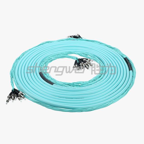 20芯万兆分支缆 20芯OM3分支缆