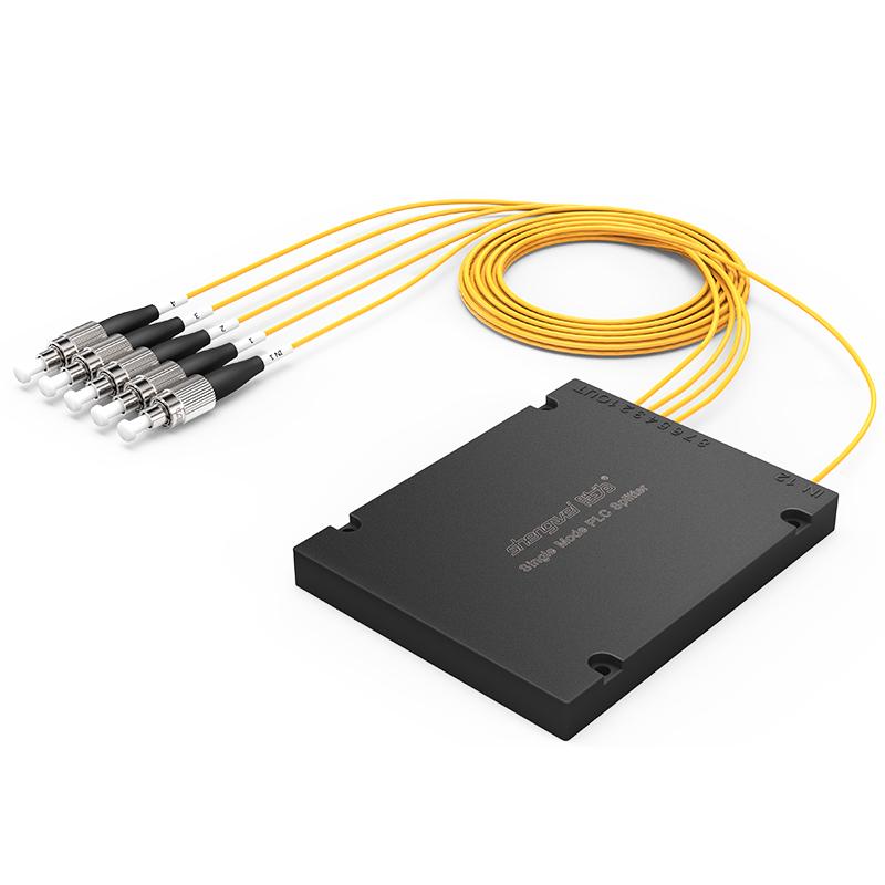FPUF-104 电信级 单模圆头FC/UPC盒式/拉锥式PLC分光器 1分4