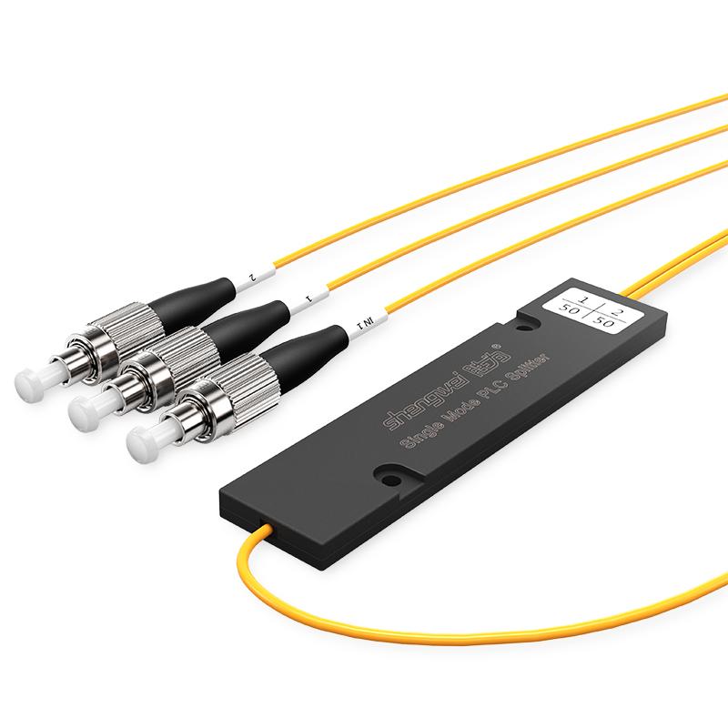 FPUF-102 电信级 单模圆头FC/UPC盒式/拉锥式PLC分光器 1分2