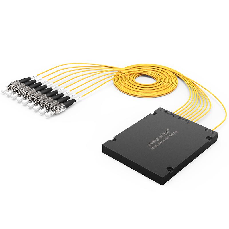 FPUF-108 电信级 单模圆头FC/UPC盒式/拉锥式PLC分光器 1分8