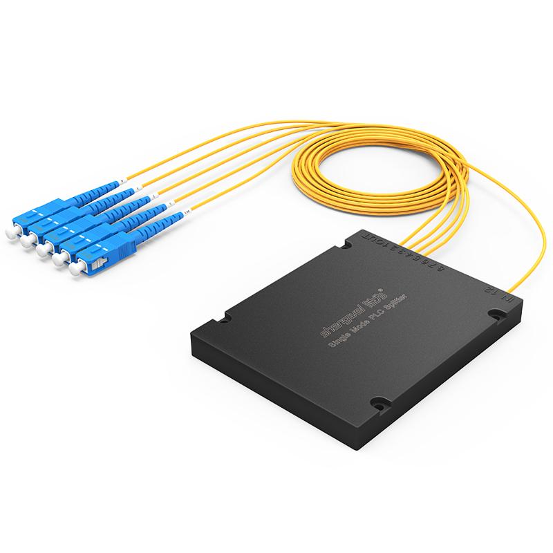 FPUS-104 电信级 单模方头SC/UPC盒式/拉锥式PLC分光器 1分4