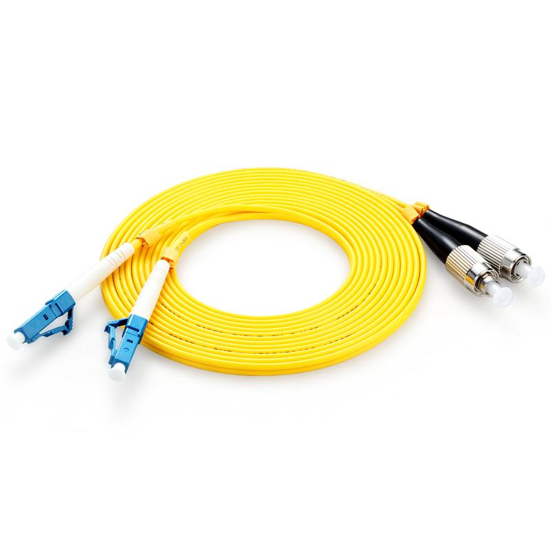 胜为(shengwei)FSC-1910 电信级LC-FC光纤跳线 单模双芯45米/对 交换机/光纤盒尾纤连接线