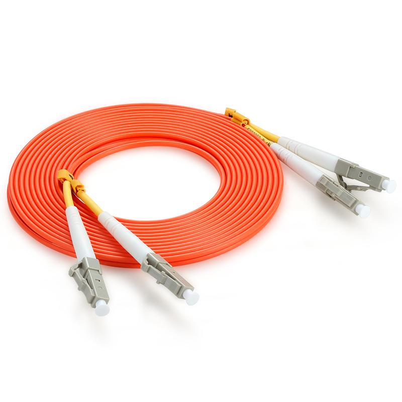胜为(shengwei)FMC-1404 电信级LC-LC光纤跳线 62.5/125多模双芯尾纤 30米/对 收发器光纤线