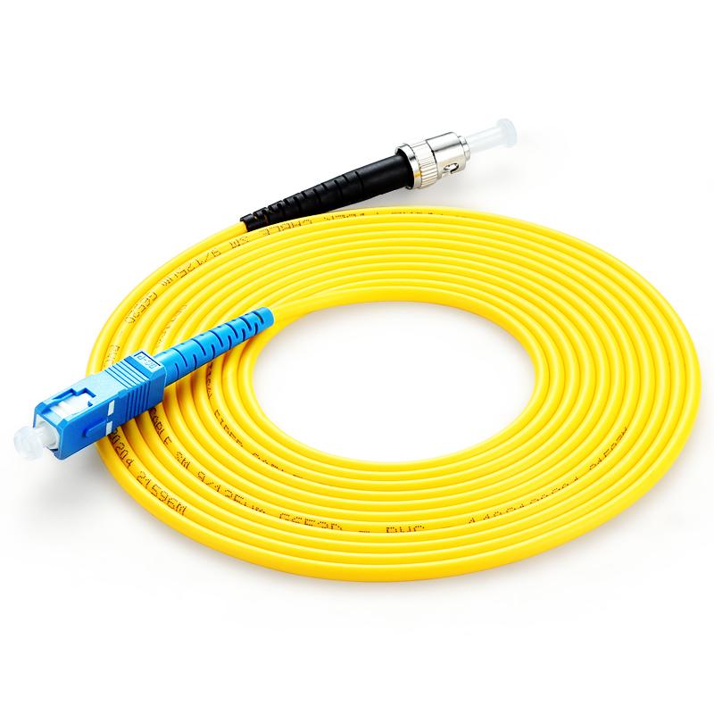 胜为(shengwei)FSC-506 电信级光纤跳线 优质进口插芯 ST-SC单模单芯 收发器尾纤 10米