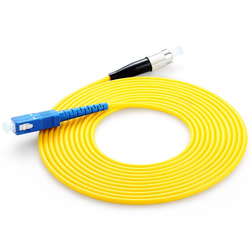 胜为(shengwei)FSC-102 电信级光纤跳线 SC-FC单模单芯 收发器尾纤 3米