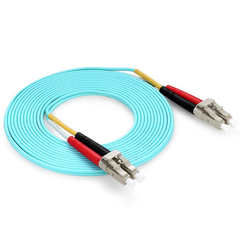 胜为(shengwei)FLLO-1030 工程电信级万兆光纤跳线 3米 LC/UPC-LC/UPC OM3 多模双芯 尾纤 光模块专用