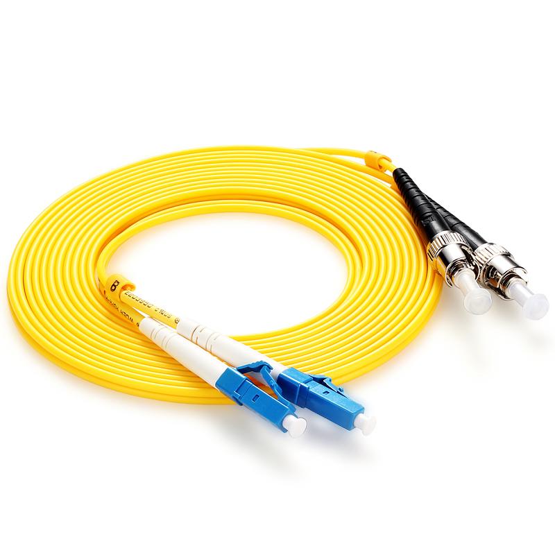 胜为(shengwei)FSC-309 电信级光纤跳线 优质进口插芯 LC-ST单模双芯 收发器尾纤 5米
