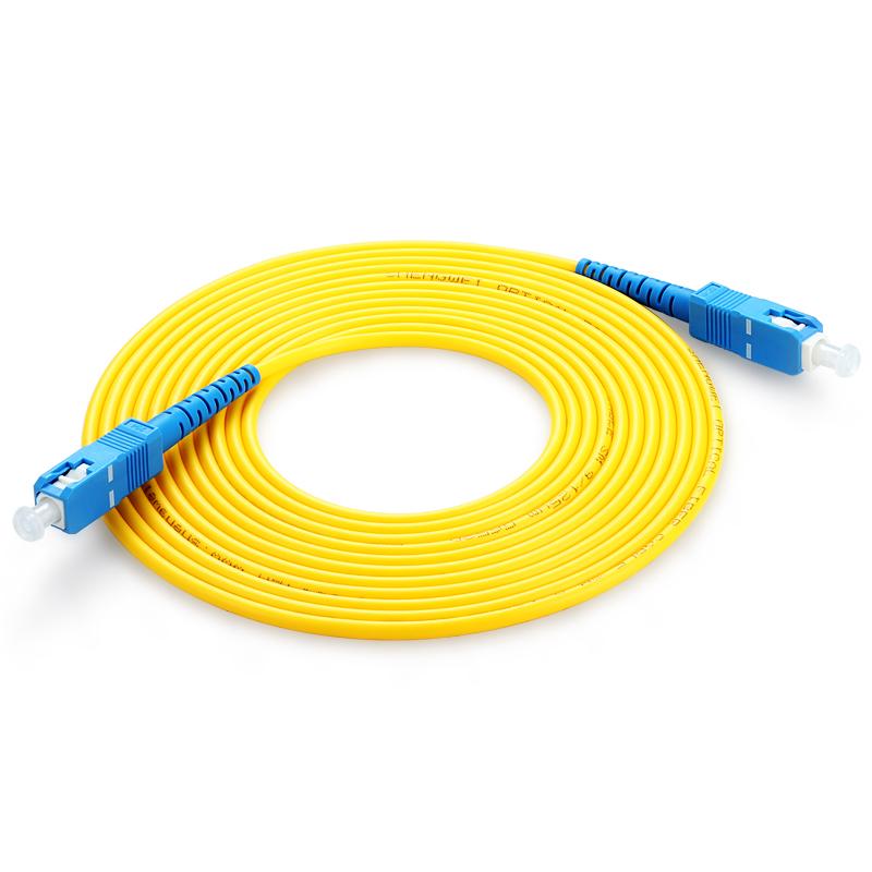 胜为(shengwei) FCCA-1050 工程电信级光纤跳线 SC(UPC)-SC(UPC)单模单芯 5米 收发器尾纤 网络光纤线