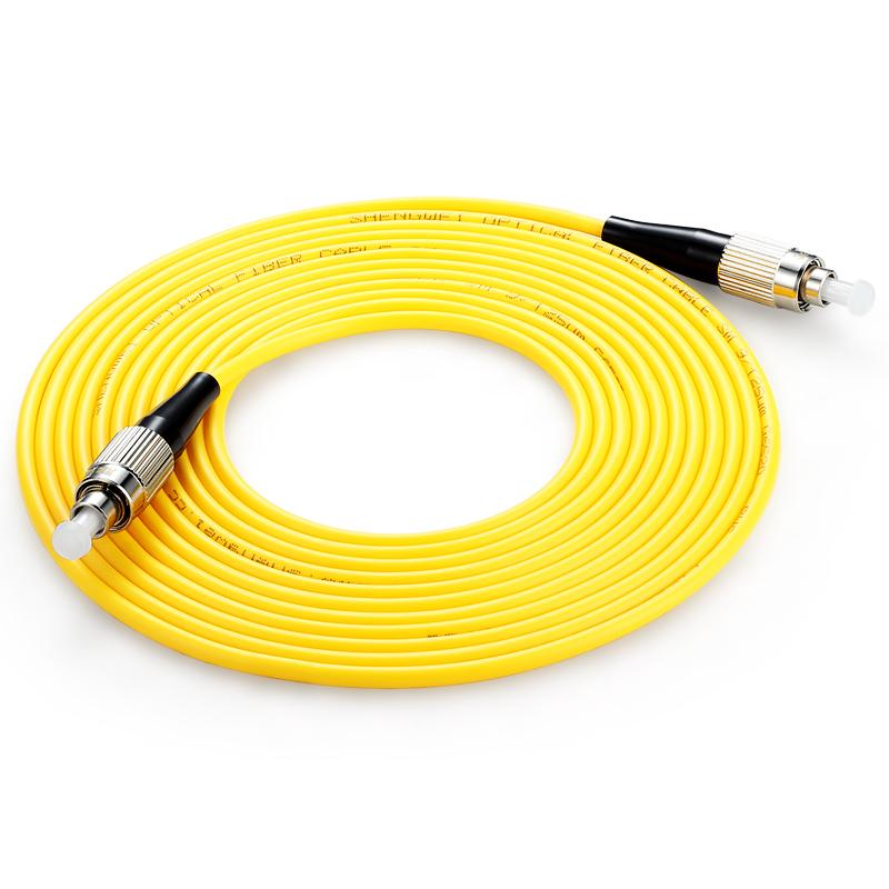胜为(shengwei) FFFA-1100 工程电信级光纤跳线 FC(UPC)-FC(UPC)单模单芯 10米 收发器尾纤 网络光纤线