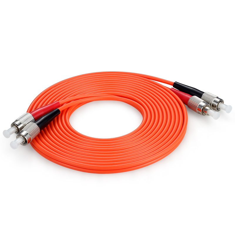 胜为(shengwei) FFFB-1100 工程电信级光纤跳线 FC(UPC)-FC(UPC)多模双芯 10米 收发器尾纤 网络光纤线