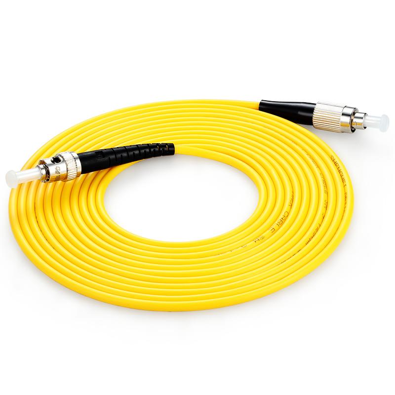 胜为(shengwei) FTFA-1100 工程电信级光纤跳线 ST(UPC)-FC(UPC)单模单芯 10米 收发器尾纤 网络光纤线
