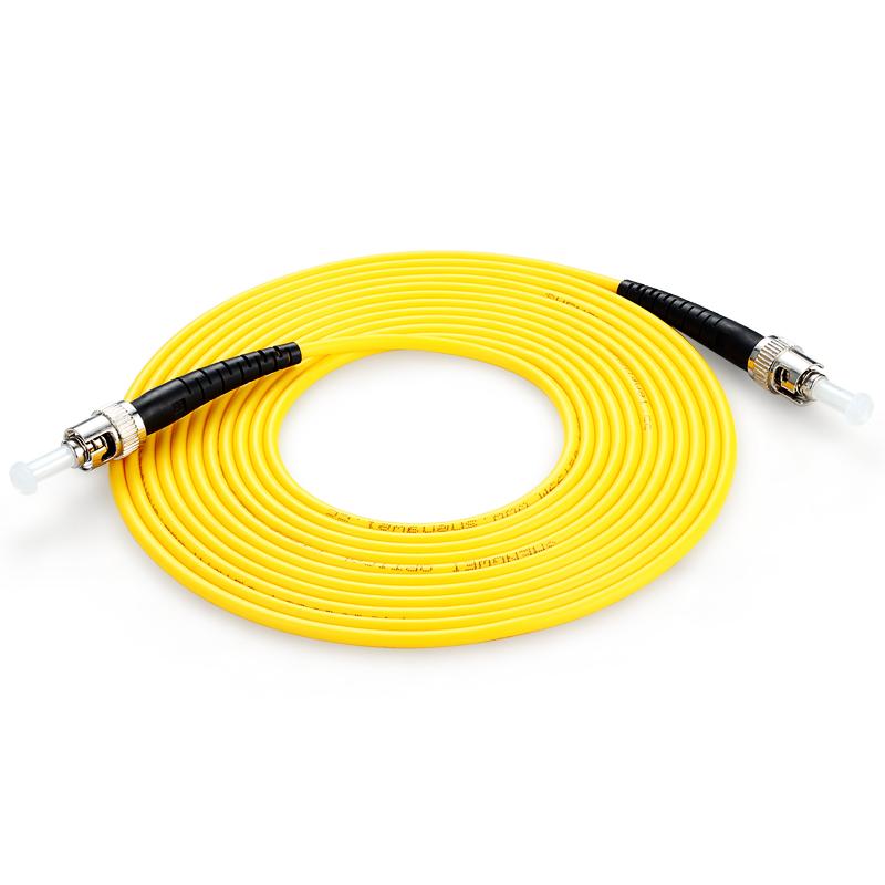 胜为(shengwei) FTTA-1100 工程电信级光纤跳线 ST(UPC)-ST(UPC)单模单芯 10米 收发器尾纤 网络光纤线