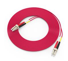 胜为(shengwei)电信级铠装光纤跳线 LC-LC多模双芯3/5/10米  FMCK-1030/1050/1100