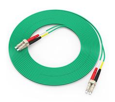 胜为(shengwei)电信级万兆铠装光纤跳线 LC-LC多模双芯3/5/10米 OM3室内 FOCK-1030/1050/1100