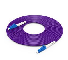 胜为(shengwei)电信级铠装光纤跳线 LC-LC单模单芯3/5/10米