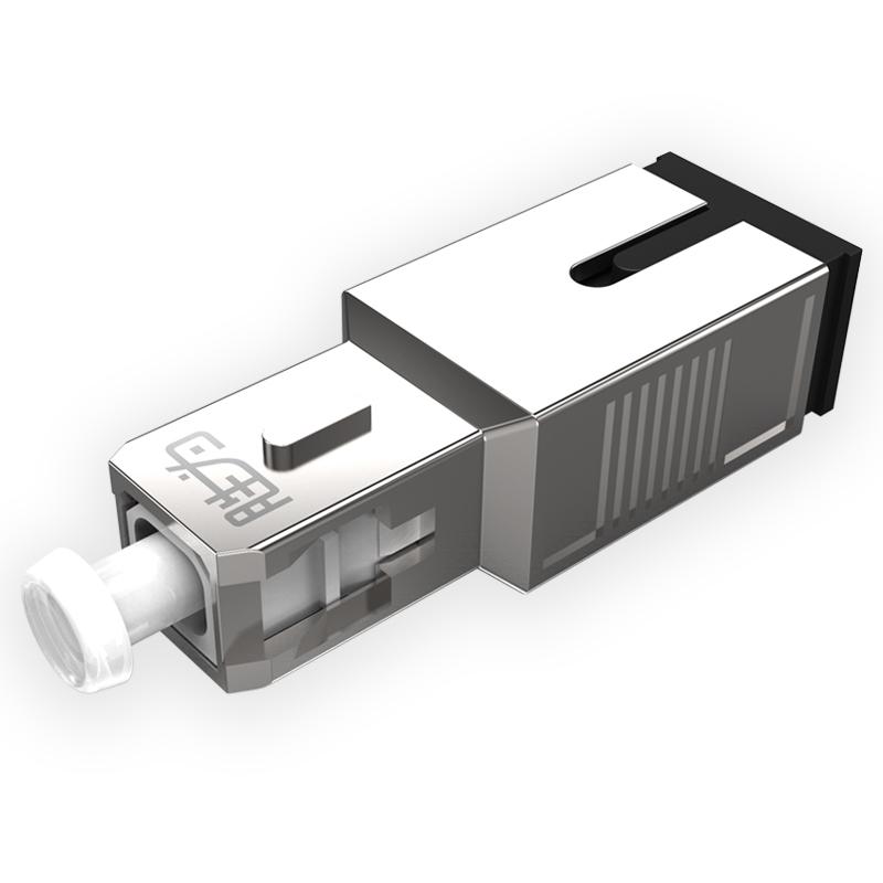 胜为OCSY-105db SC-SC型阴阳式 5db公母固定法兰/耦合适配器转换头