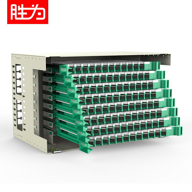 96芯SC多模满配ODF光纤配线架标准19英寸机架式