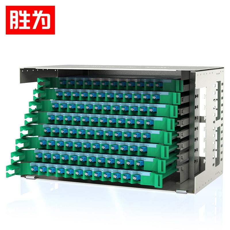 胜为 ODF-1192L-S  192芯ODF光纤配线架LC单模满配 标准19英寸机架式1.2mm冷轧板