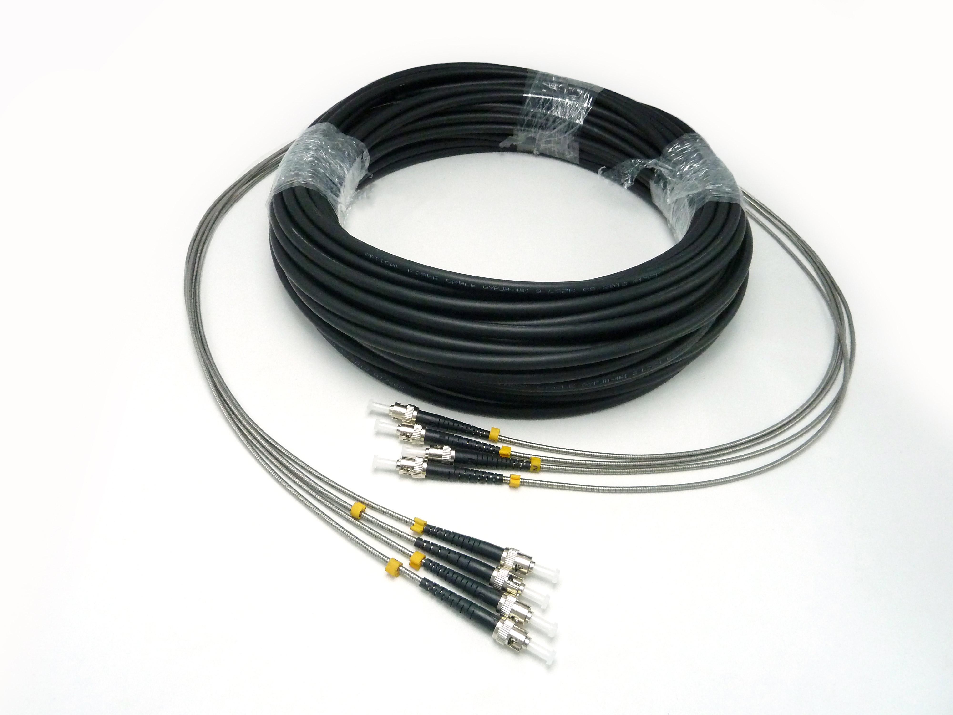 胜为 7.0四芯 LSZH 野战光缆