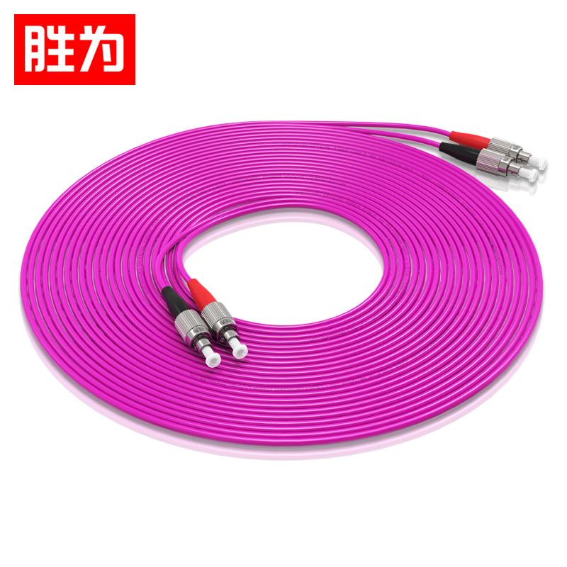 胜为工程电信级万兆光纤跳线 FC-FC多模双芯OM4光纤线尾纤 FFFO-2030
